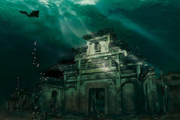 Удивительные достопримечательности – 3 подводных города, которые может посетить каждый турист