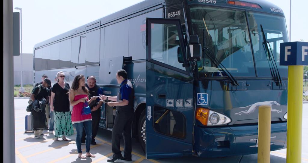 Автобусные перевозчики США