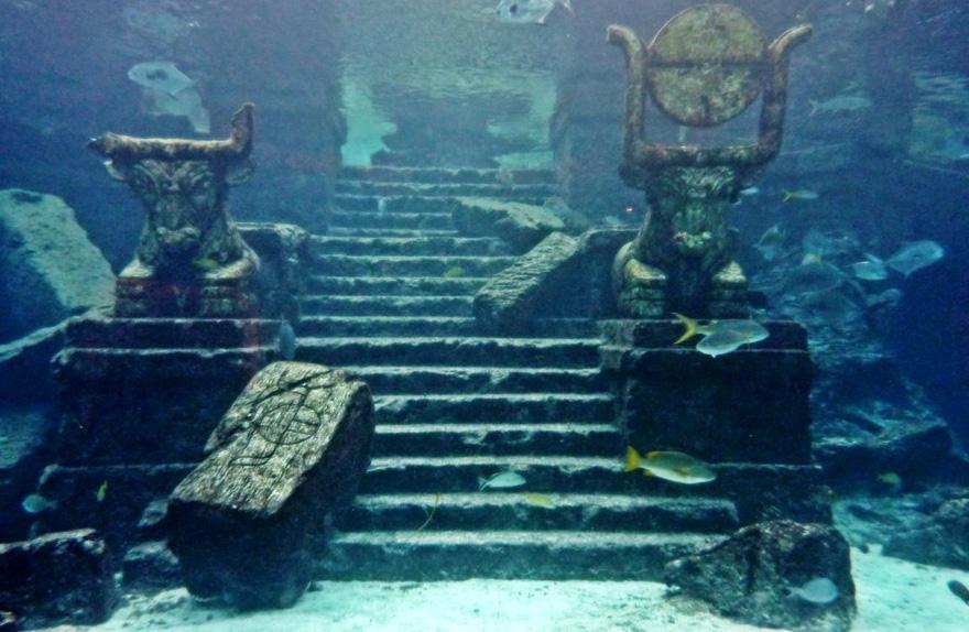 Удивительные достопримечательности – 3 подводных города