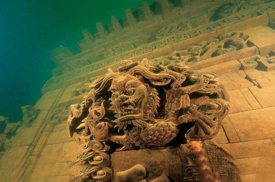 Интересный дайвинг – где можно посмотреть на подводные города?