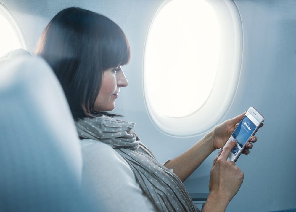 Новая услуга авиаперевозчика Finnair - бесплатный Wi-Fi на борту