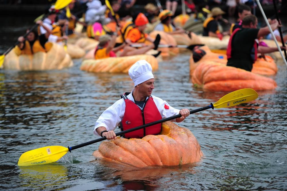 Pumpkin Regatta топ - 5 крутых праздников