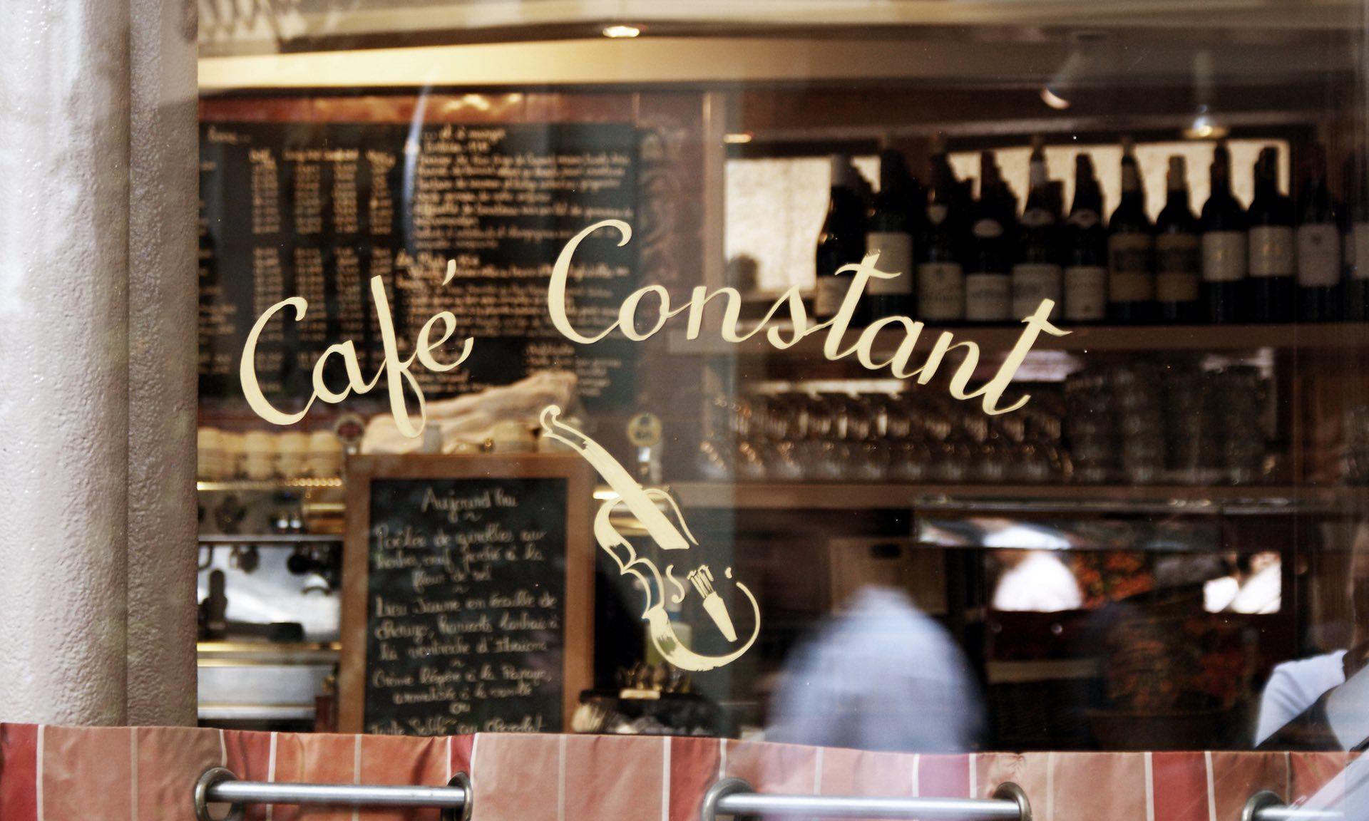 Париж Café-Constant - Интернет в странах Европы