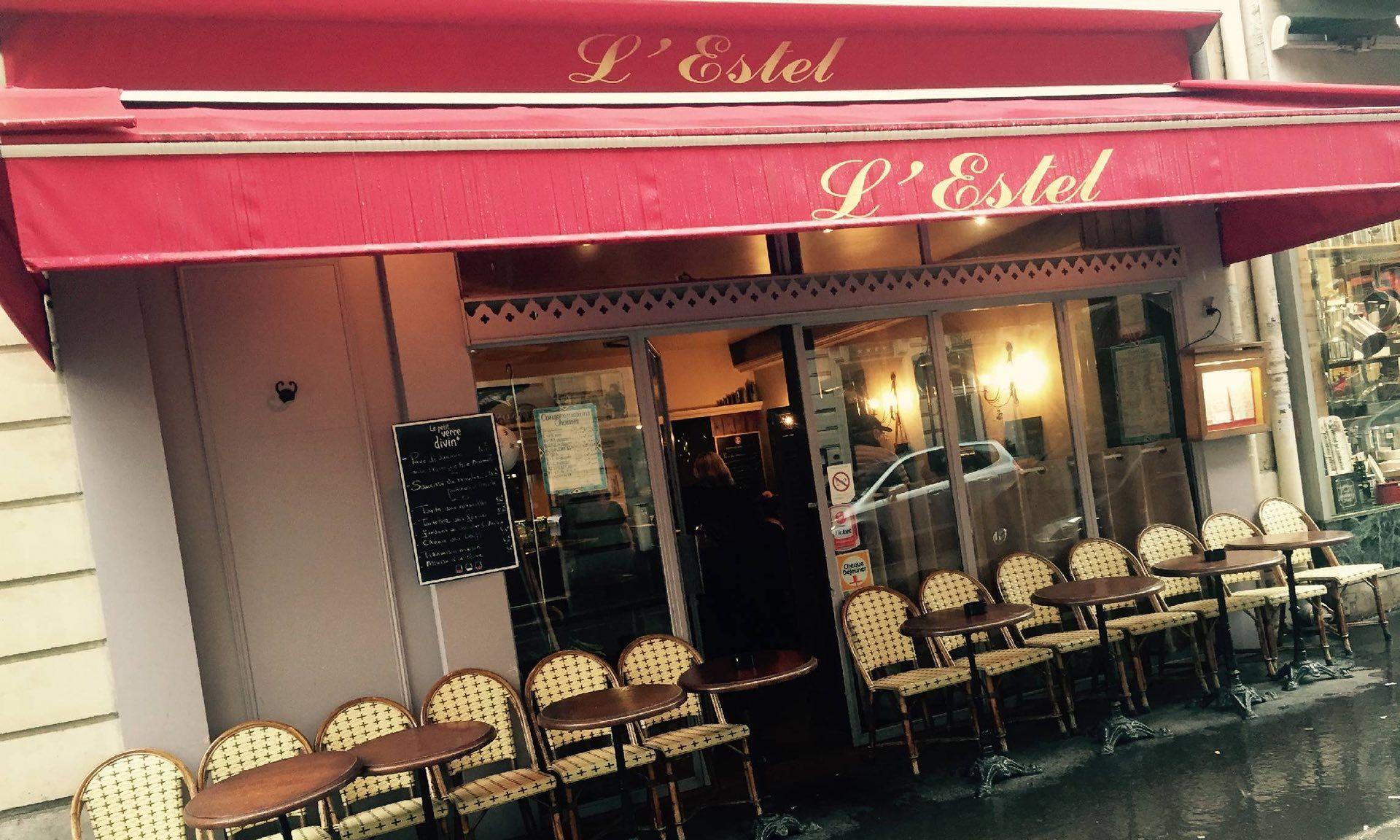 кафе L'Estel Где в центре Парижа можно пообедать