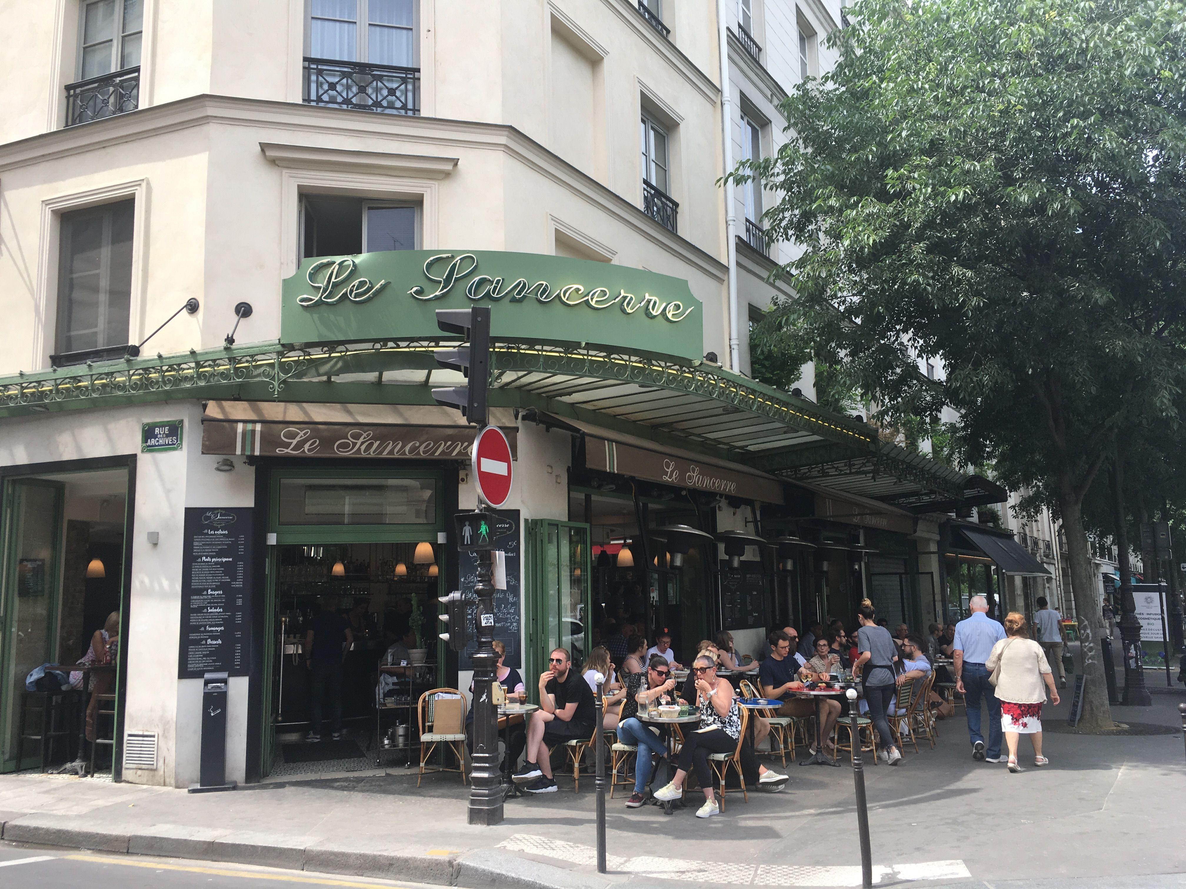 Топ-5 бюджетных кафе в центре Парижа