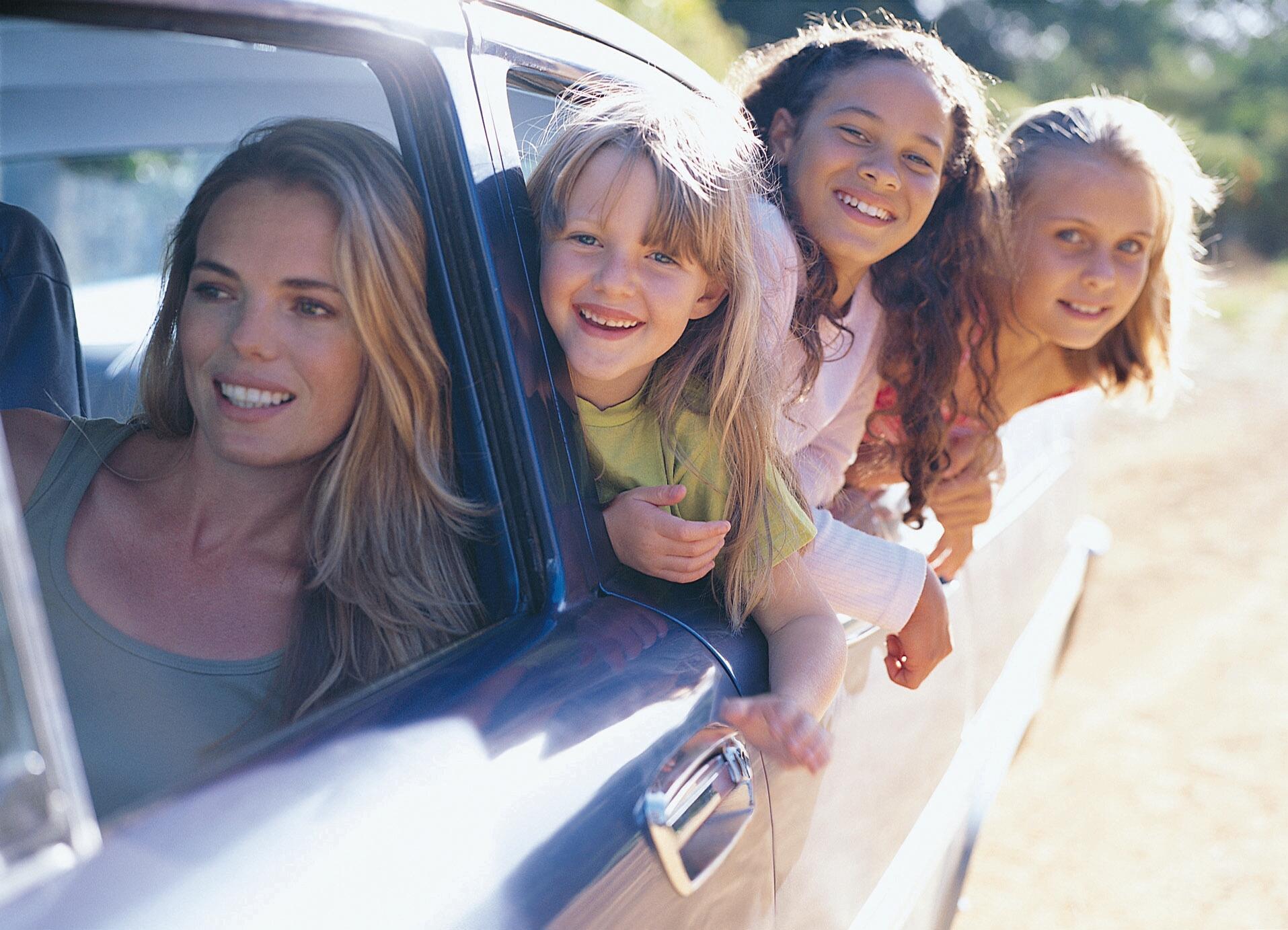 Путешествием на авто с ребёнком