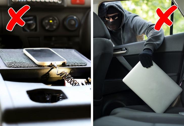 Обычные вещи, которые небезопасно оставлять в салоне авто 2