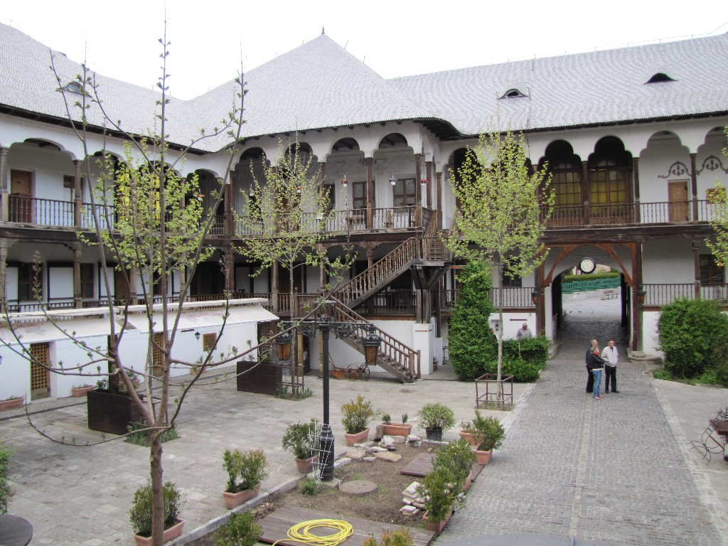 Двор Манук-бея Румыния, Бухарест