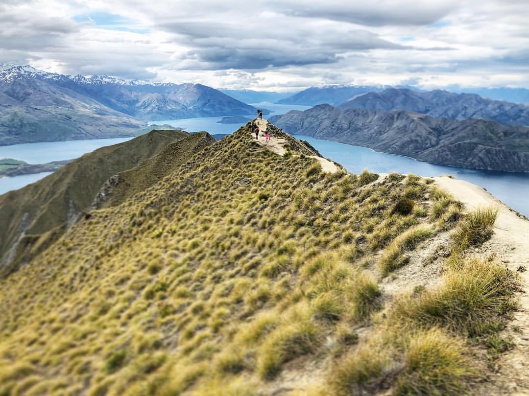 Ройс Пик. Новая Зеландия с рюкзаком - как организовать поездку
