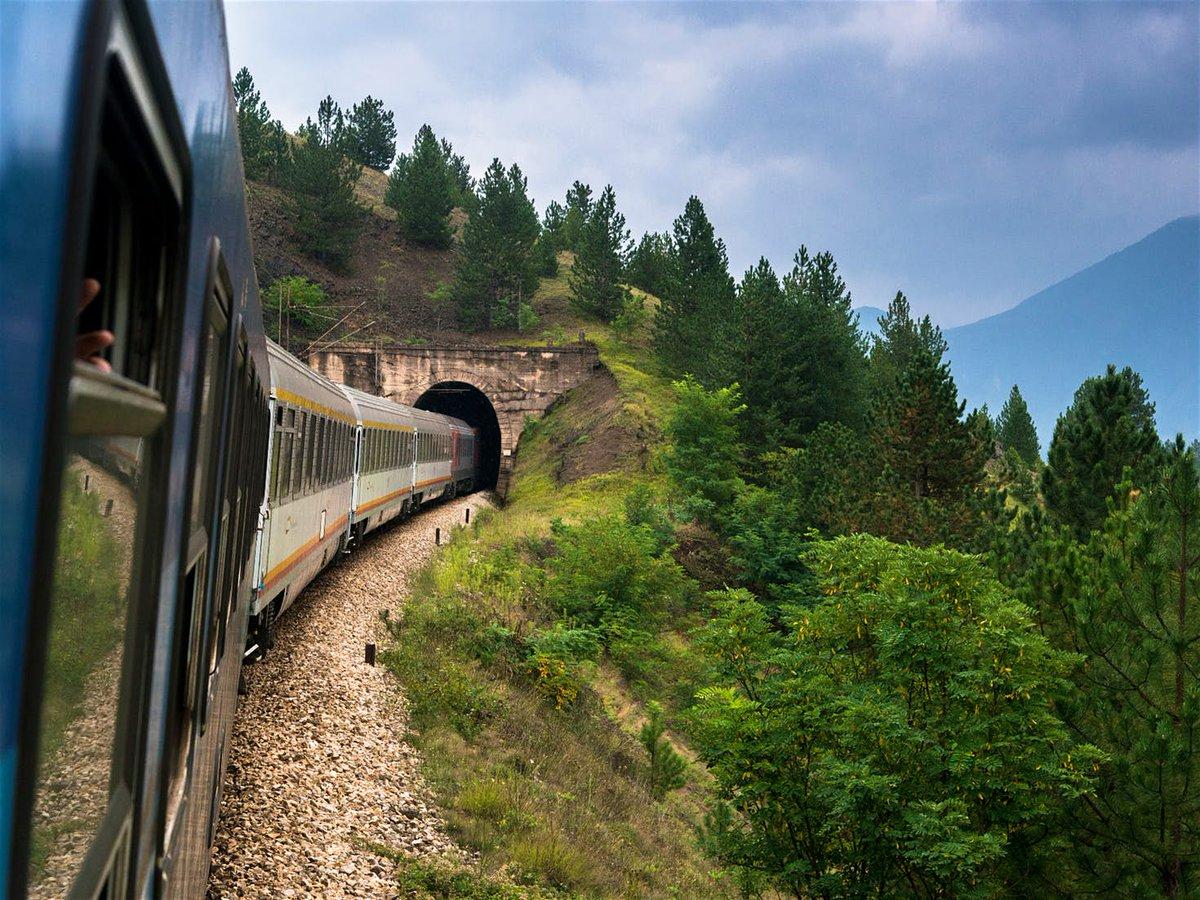 Балканы поездом