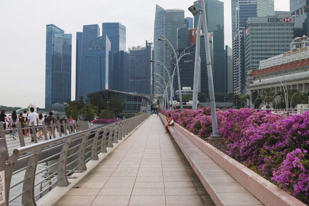 чистота в Сингапуре