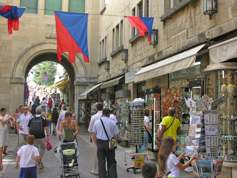 Сан-Марино туристы