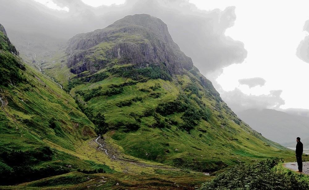 Шотландия Легальный кемпинг в дикой природе
