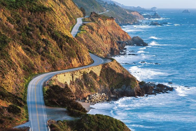 Достопримечательности Big Sur Pacific Coast Highway