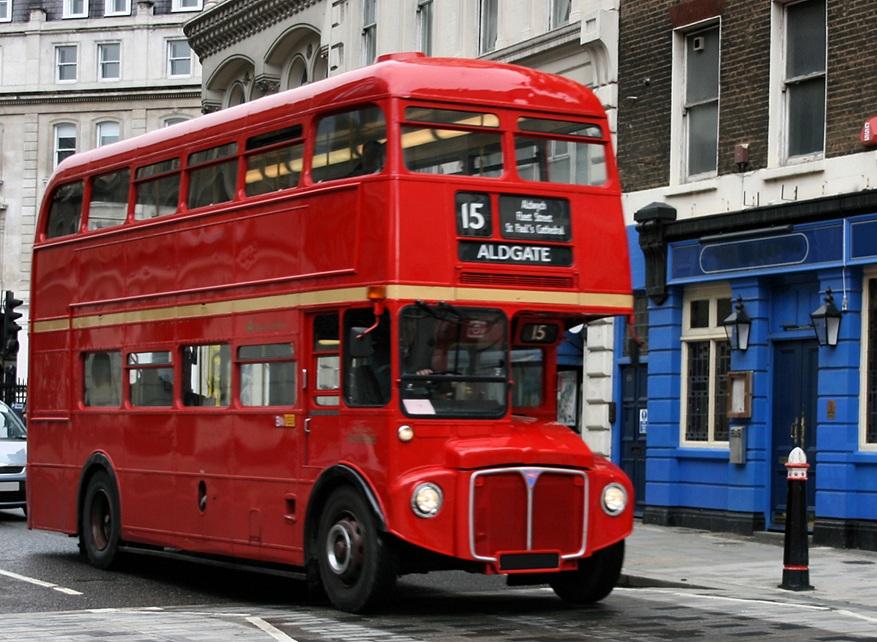 В Лондоне автобусы ездят на кофе 1