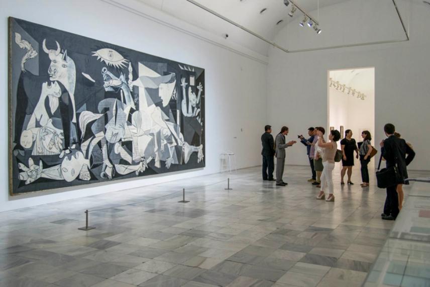 Национальный музей Центр искусств имени королевы Софии. Мадрид, Испания.