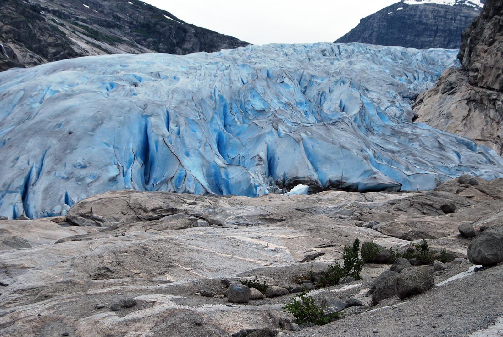 ледник Нигардсбреен Необычные маршруты Норвегии