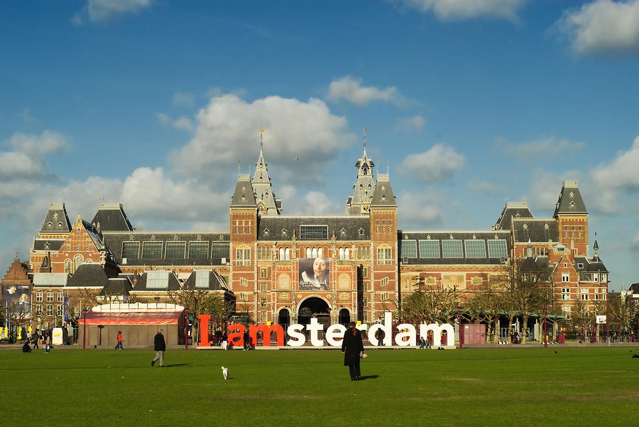 Государственный музей или Рейксмузей. Амстердам, Нидерланды