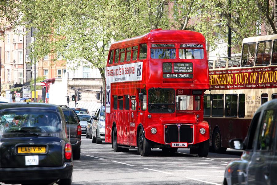 Омнибус, Лондон