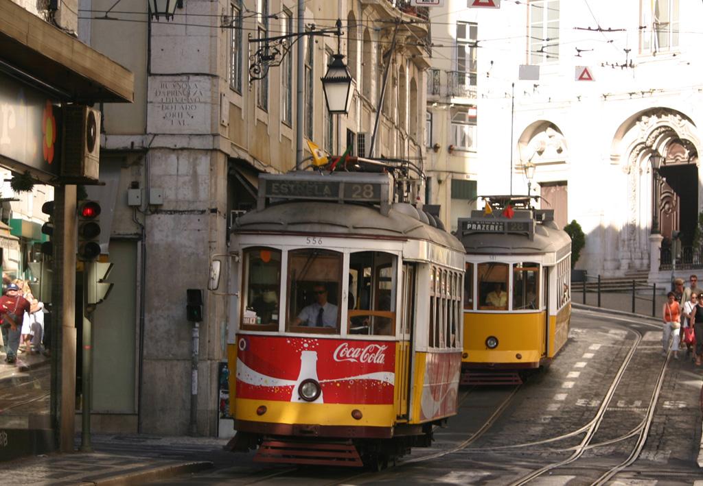 Интересные виды общественного транспорта - Remodelado, Лиссабон