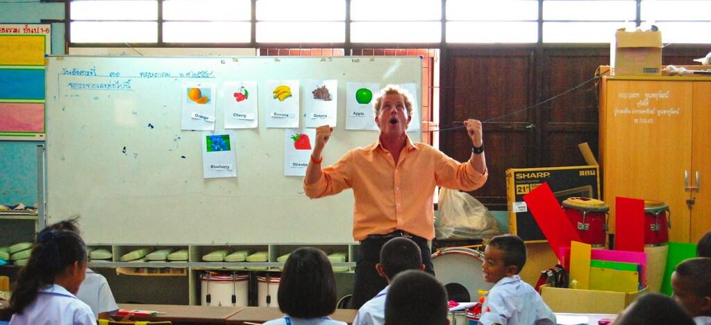 учитель английского в Таиланде