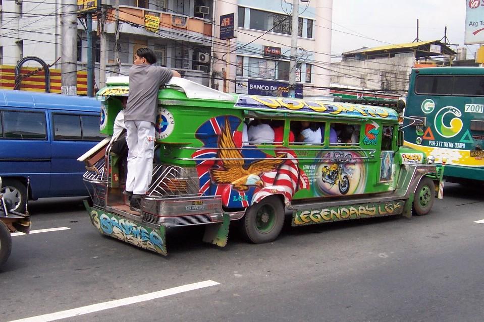 Jeepney, Филиппины - Интересные виды общественного транспорта в мире