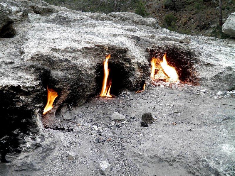 гора Химера места в Анталии