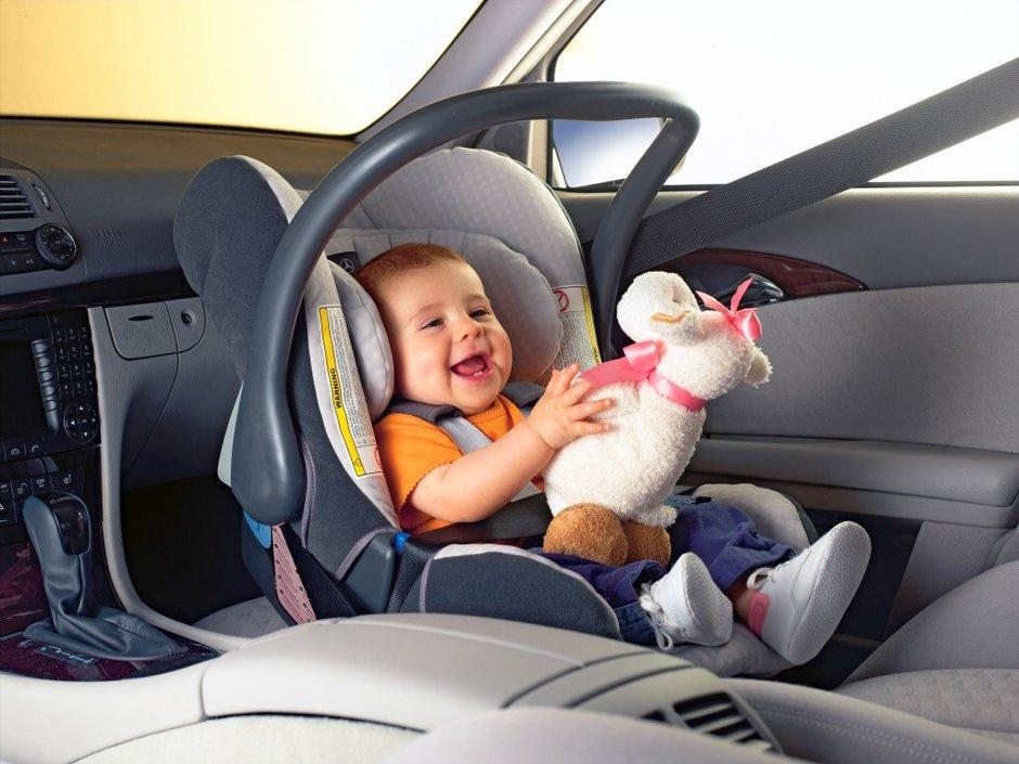 Путешествие на машине с ребенком до 1 года
