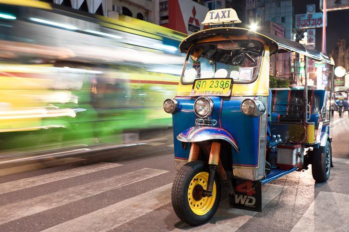 Интересные виды общественного транспорта в мире
