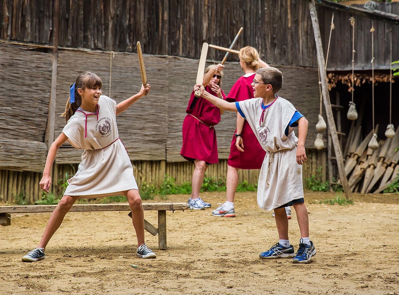 Школа гладиаторов в Риме