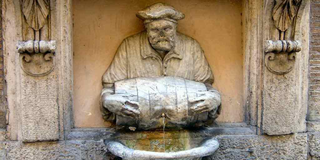фонтан Fontanelle отдых в Риме. Посмотрите самые интересные фонтаны
