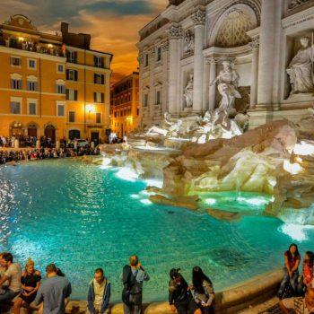 Городской отдых в Риме. Посмотрите самые интересные фонтаны в итальянской столице