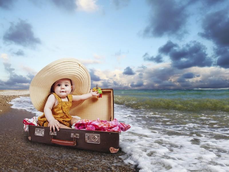 Отдых с младенцем за границей и здоровье малыша