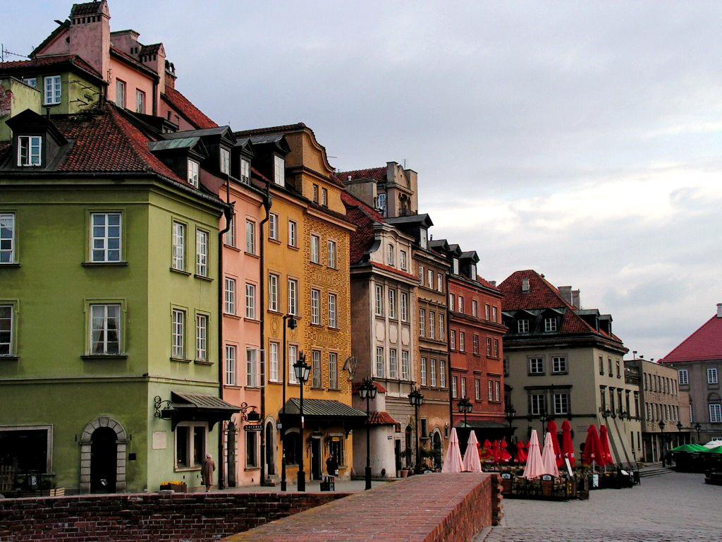 район Праги в Варшаве