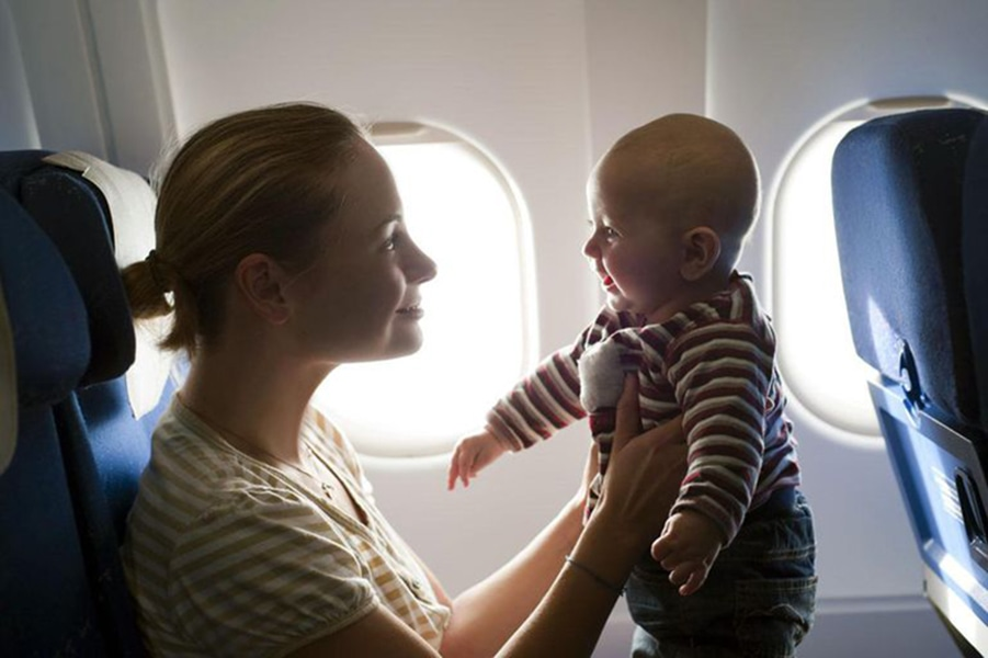Каникулы с младенцем за границей - какую страну выбрать?