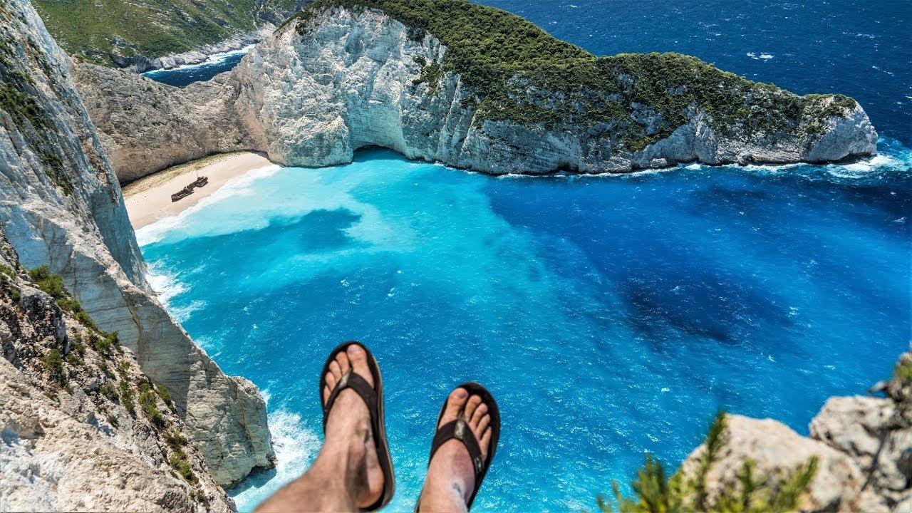 Бухта Навайа, остров Закинф, Греция