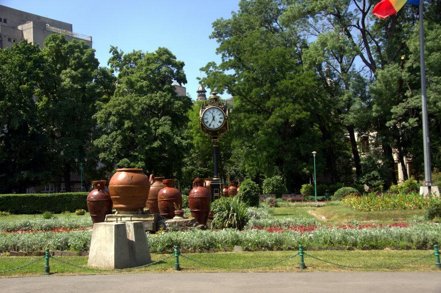 пивной сад в Бухаресте
