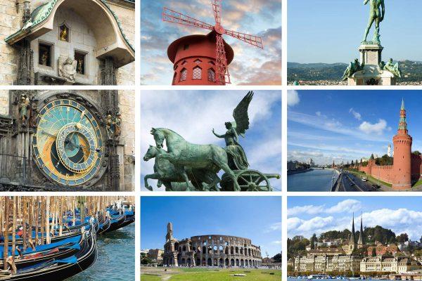 Туристическая поездка по нескольким странам