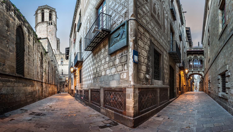 прогулка по Barrio Gotico