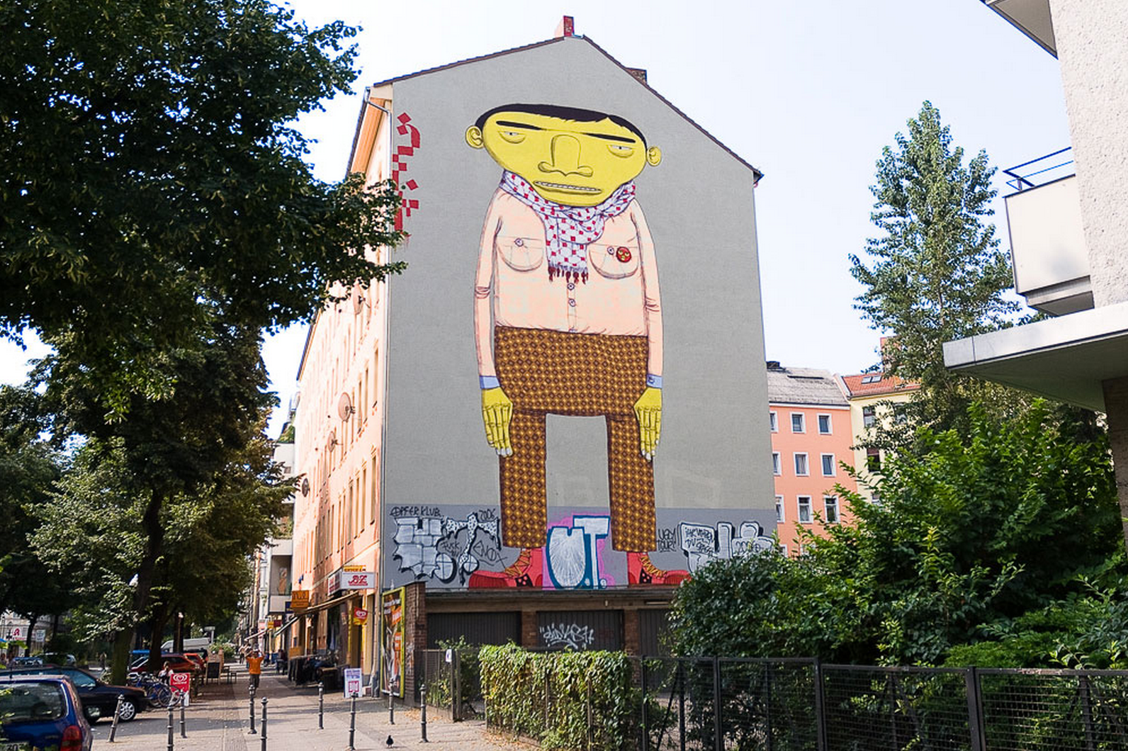 Берлин The Yellow Man