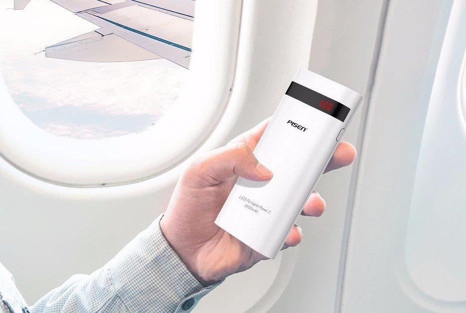 Power bank в самолете