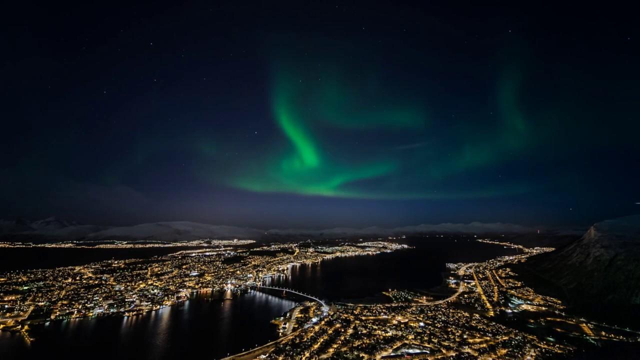 Норвегия сияние