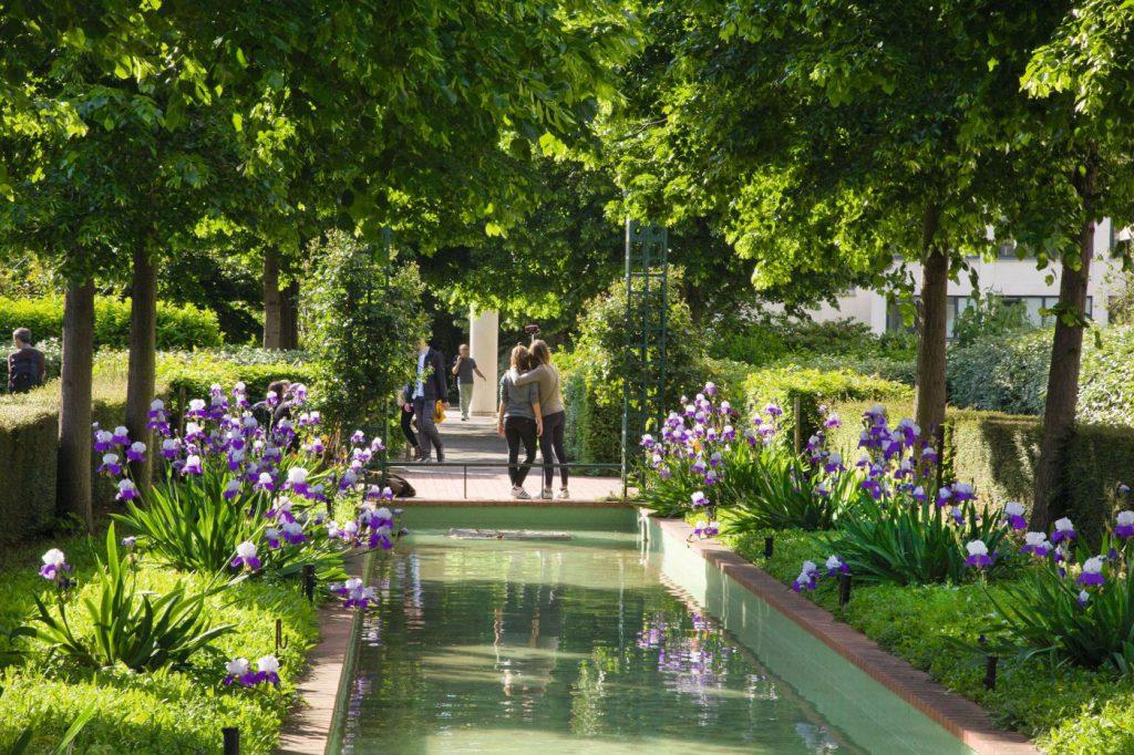Парки и смотровые площадки Париж
